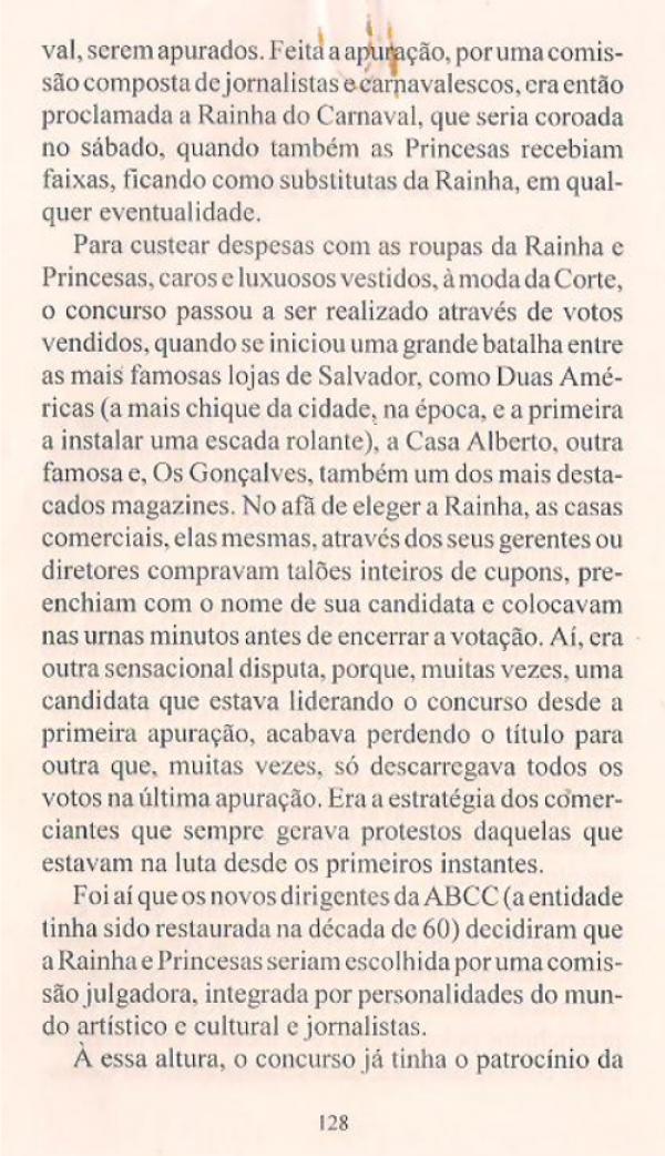 Livro - Bahia Carnaval - 1ªEdição - Anízio Félix & Moacir Nery - pag128