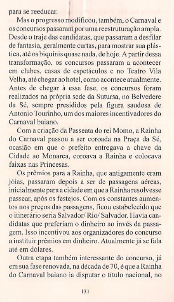 Livro - Bahia Carnaval - 1ªEdição - Anízio Félix & Moacir Nery - pag131
